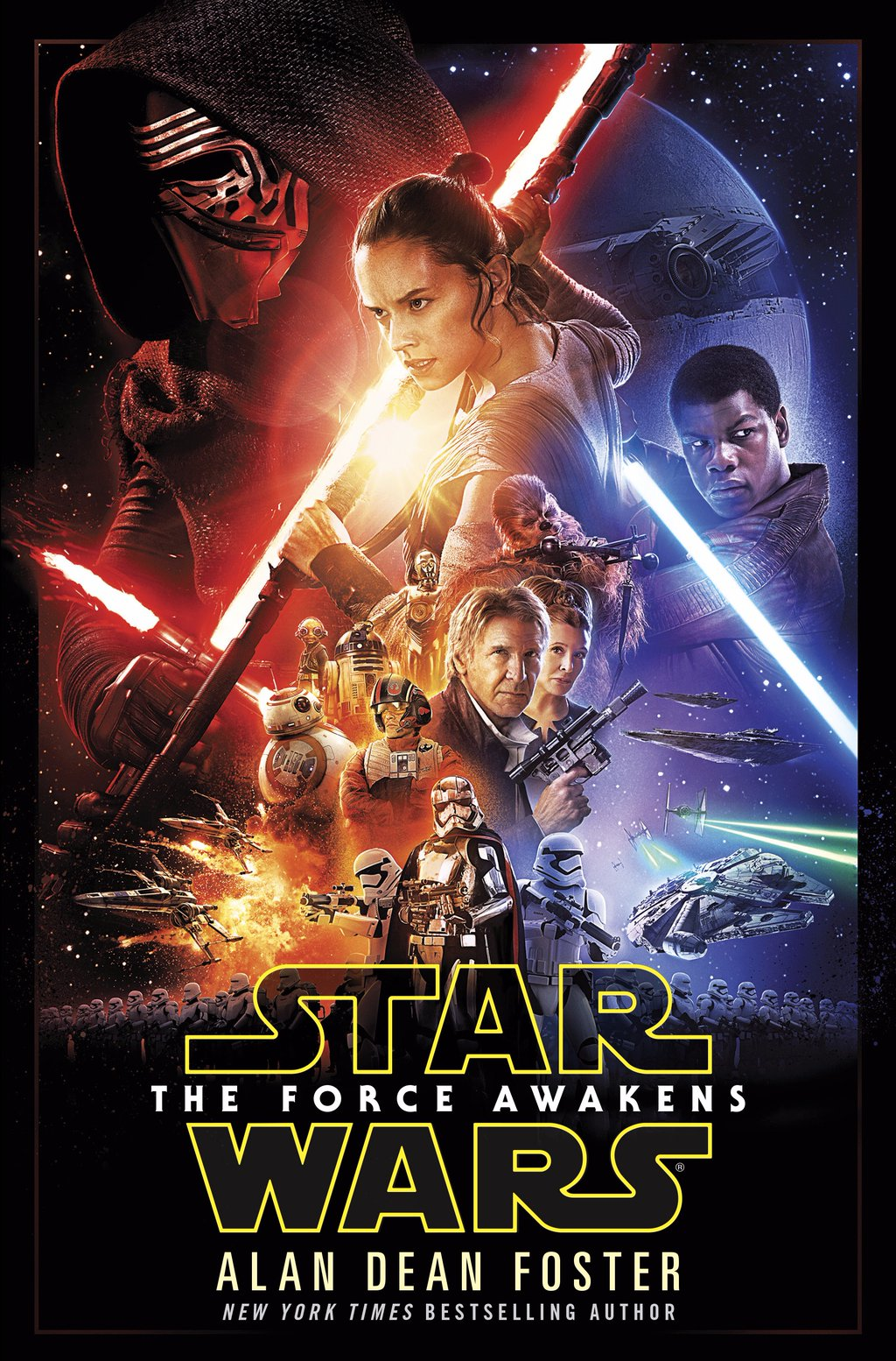 'STAR WARS - THE FORCE AWAKENS'  MOVIE ADAPTATION, BY ALAN DEAN FOSTER