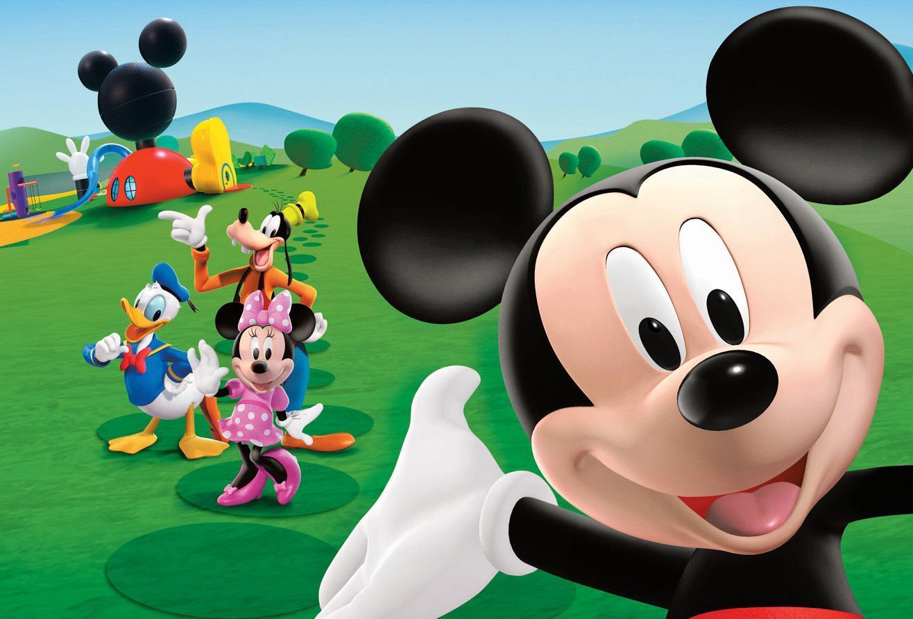 Diversión para ti: La casa de Mickey Mouse - Mickey echa el Lazo.