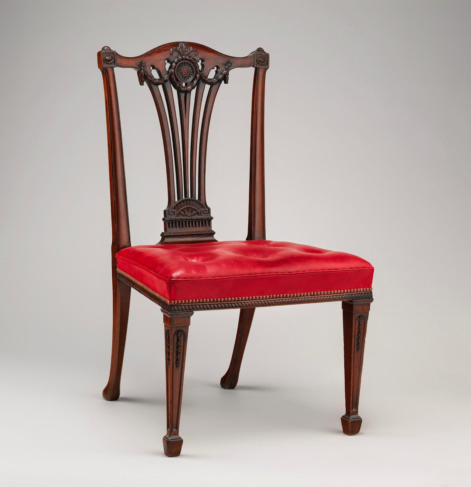 Thomas chippendale silla de comedor art2c - Sillas chippendale ...