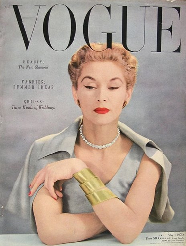 wonderful collection of fashion magazine covers from 1940s to 1950s