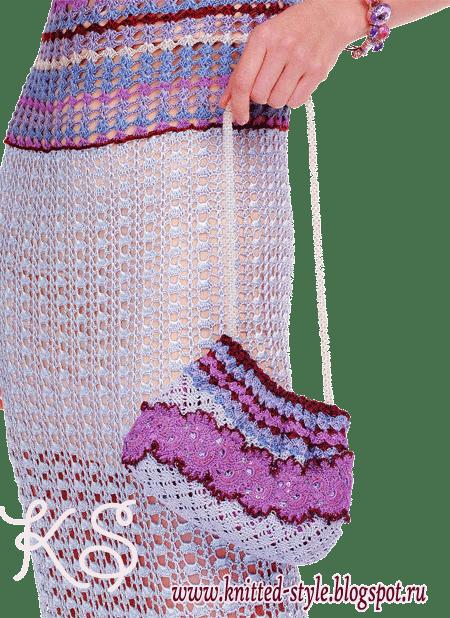 комплект: платье и сумочка
