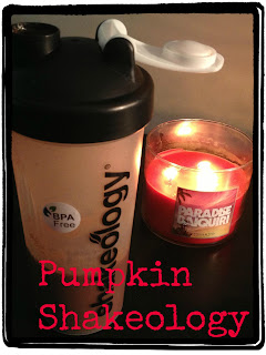 Fall time recipes for shakology