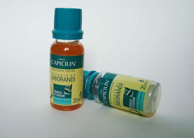 Tônico de Jaborandi da Capicilin
