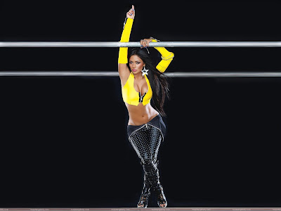 Nicole Scherzinger Wallpaper in yellow
