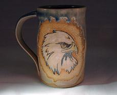 Eagle Mug - Lori Buff
