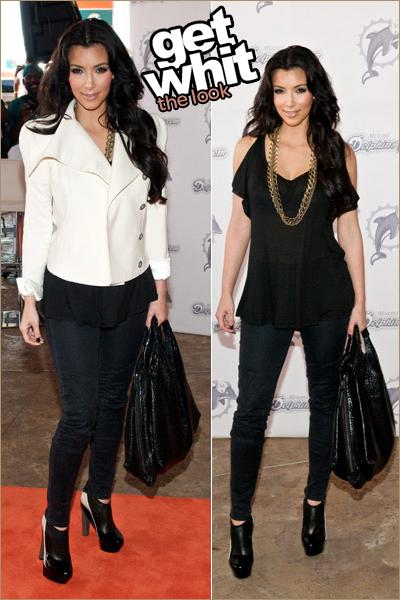 Kim Kardashian Look For Less Get Whit It
