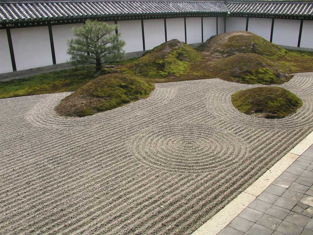 Arte y jardiner a kare sansui sekei tei jard n seco y - Arena jardin zen ...
