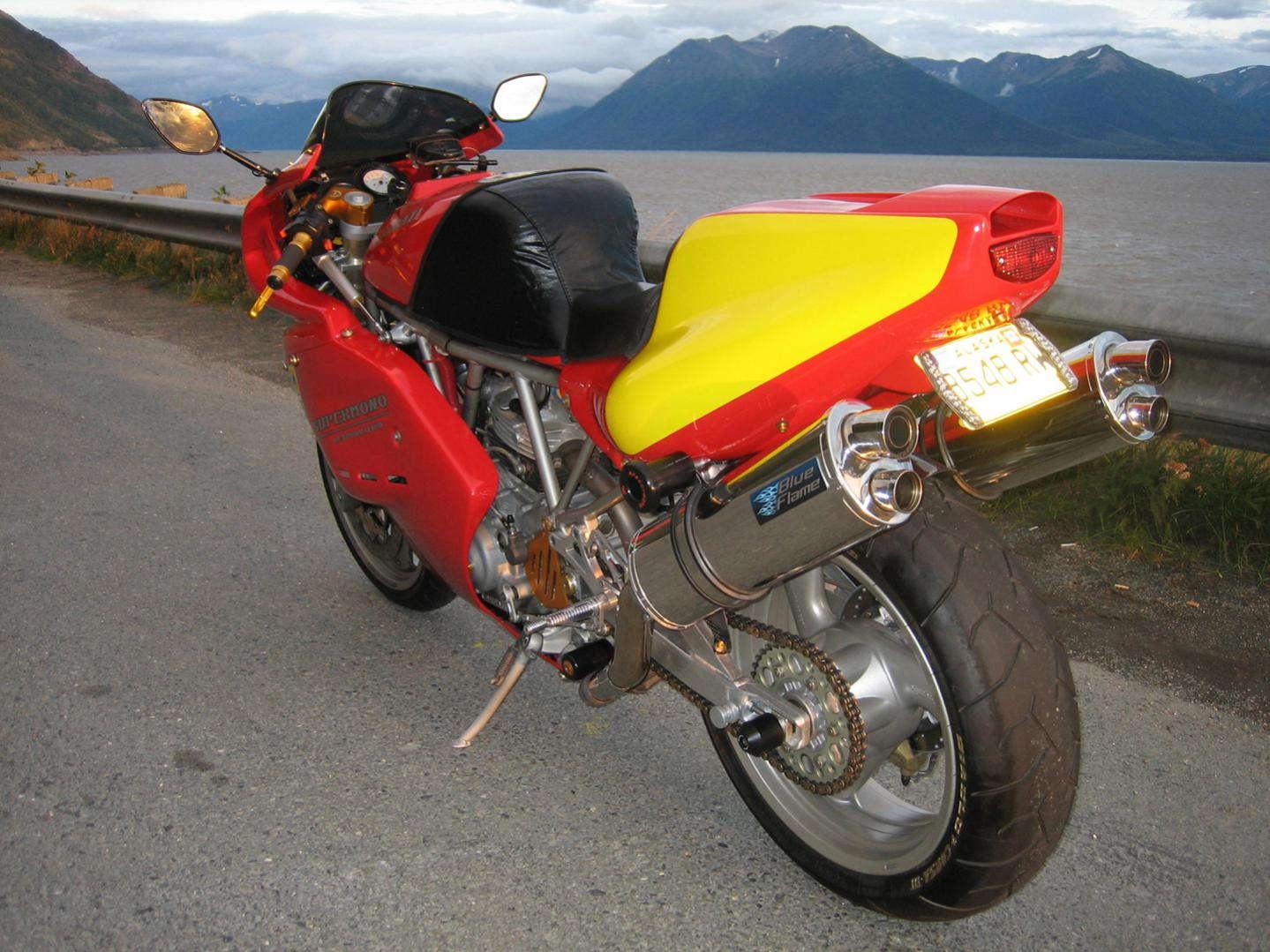Ducati Supermono Conversion