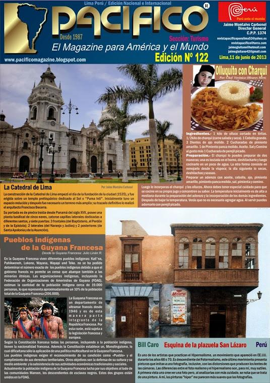 Revista Pacífico Nº 122 Turismo