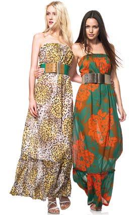 vestidos largos verano 2012