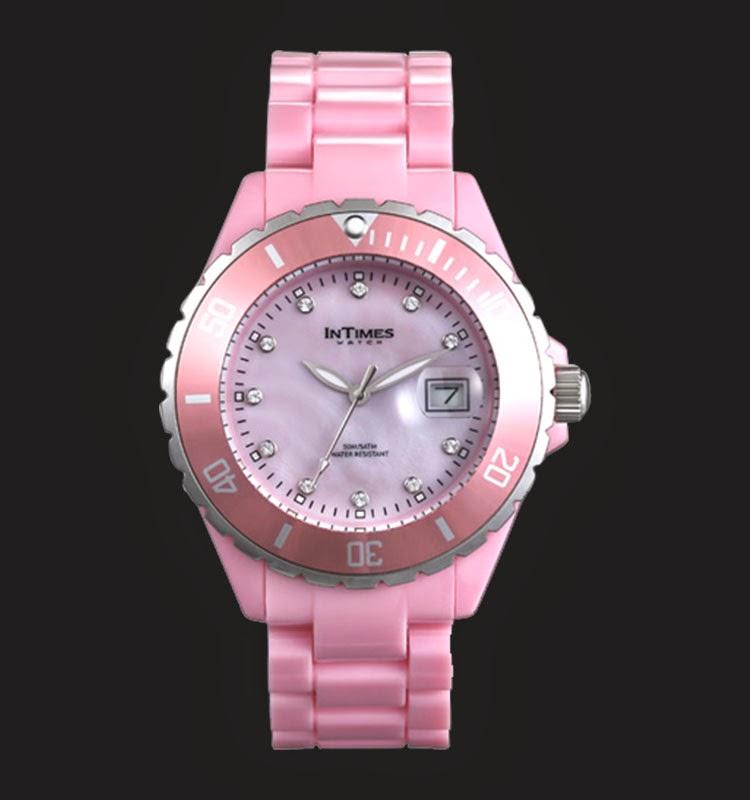 Intimes Wanita IT063-PK Swarovski Crystal