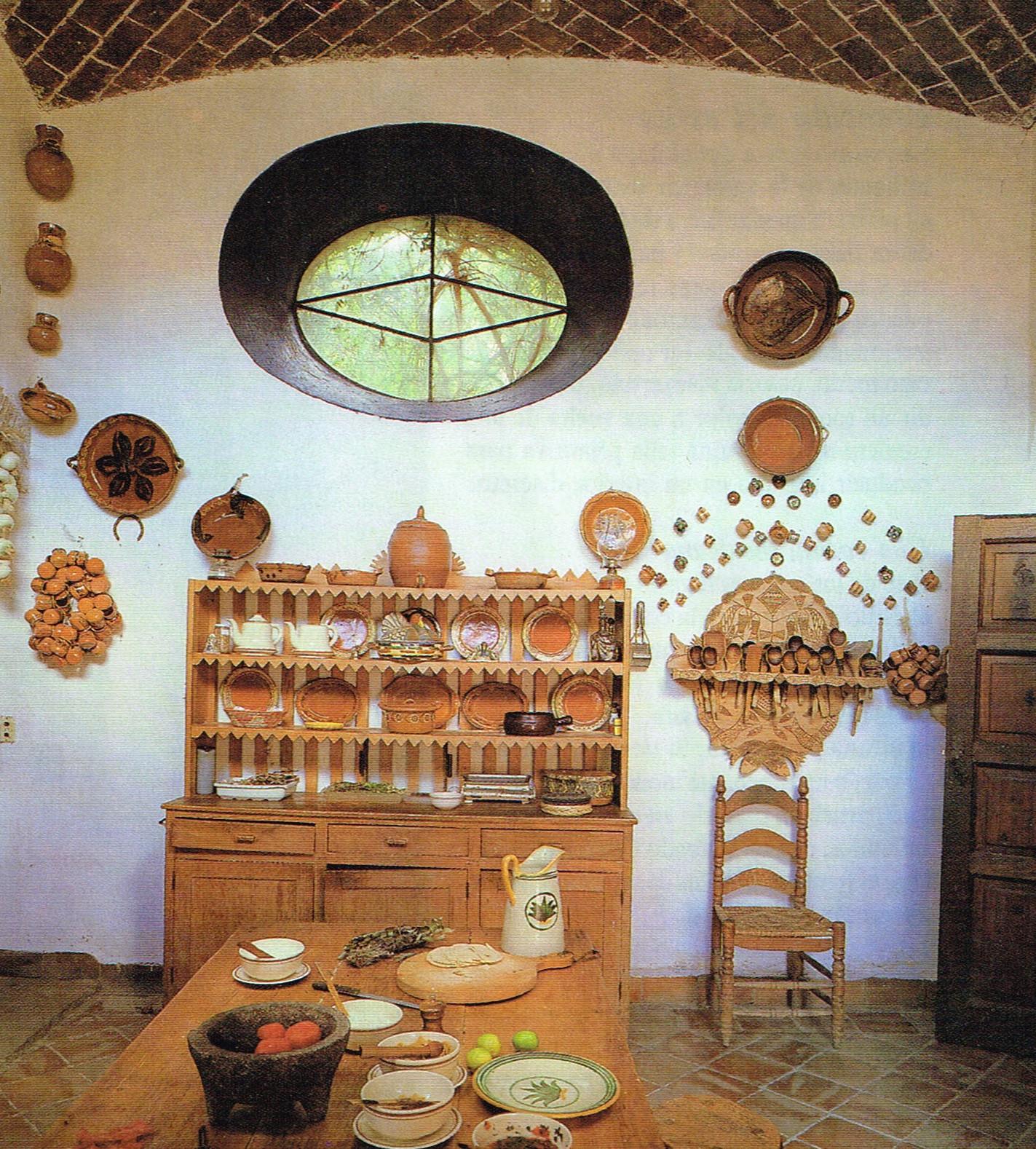 decoracion de interiores rustica mexicana:una cocina mexicana uno de los mejores lugares para introducir el