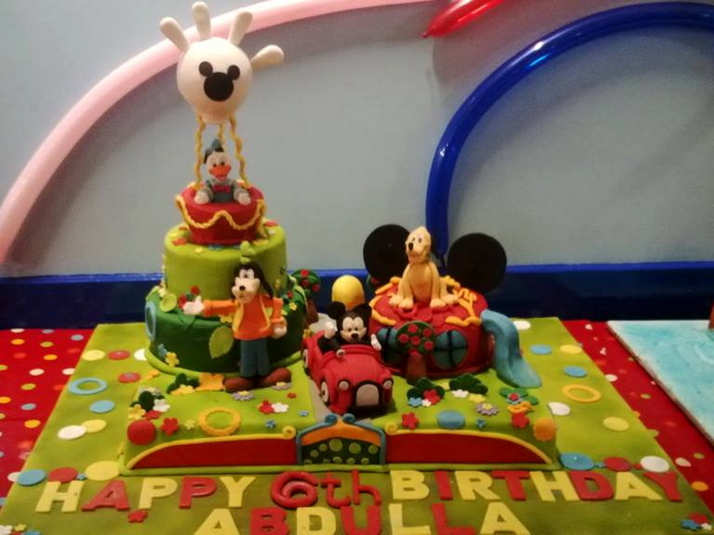 London Patisserie Disney Birthday Cake