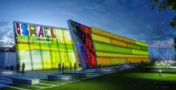 Israel marca presença na Expo Milão com o Pavilhão Campos do Amanhã