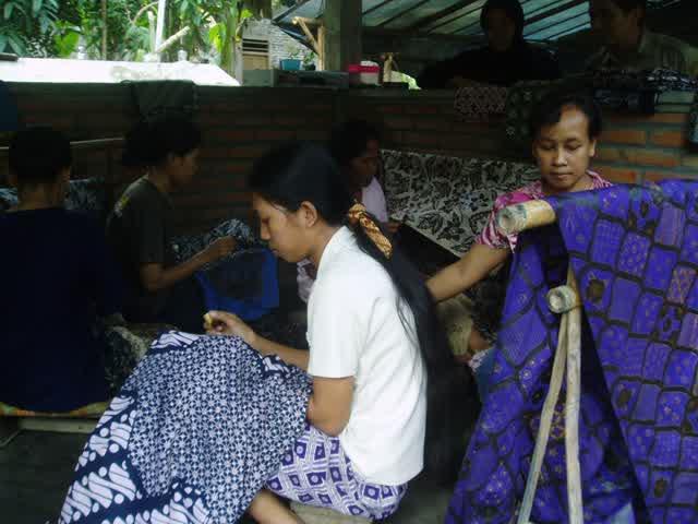 perajin batik sembungan kulon progo jogja