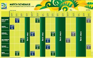 Jadwal Piala Konfederasi 2013