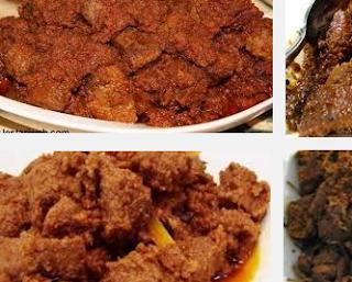 Masakan Rendang Padang