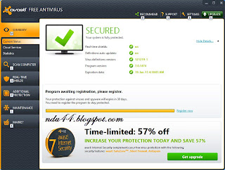 screenshot avast free   antivirus
