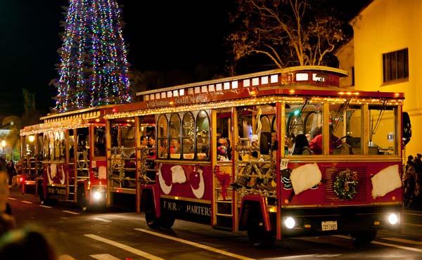 Santa Barbara Sights And Events Santa Barbara Trolley Of