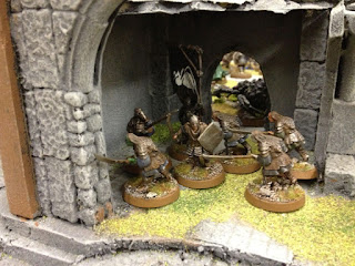 The Hobbit SBG - Dol Guldor Orcs in doorway