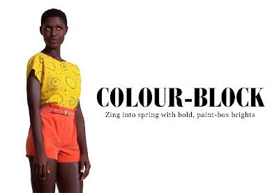 >Tendance Colour-Block sur ASOS