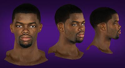 NBA 2K13 Aaron Brooks Cyberface Patch Mods