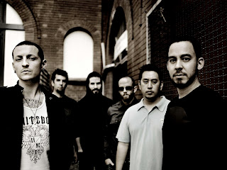 Linkin Park Dark Greyscale HD Wallpaper