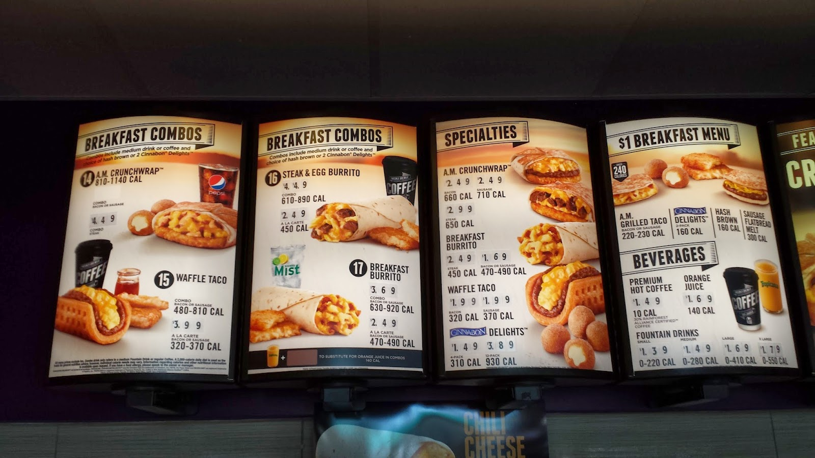 beer blog: the new taco bell breakfastreviewed!