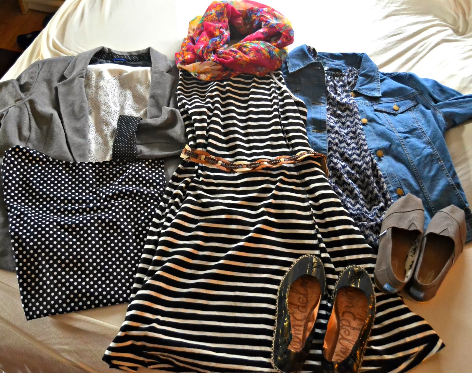 stripes, polka dots, toms