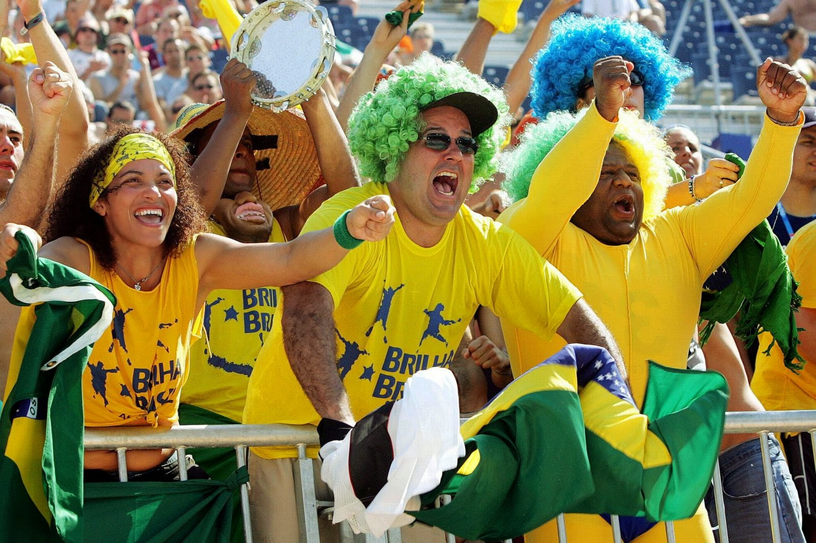 Brazil football world cup 2014 fans