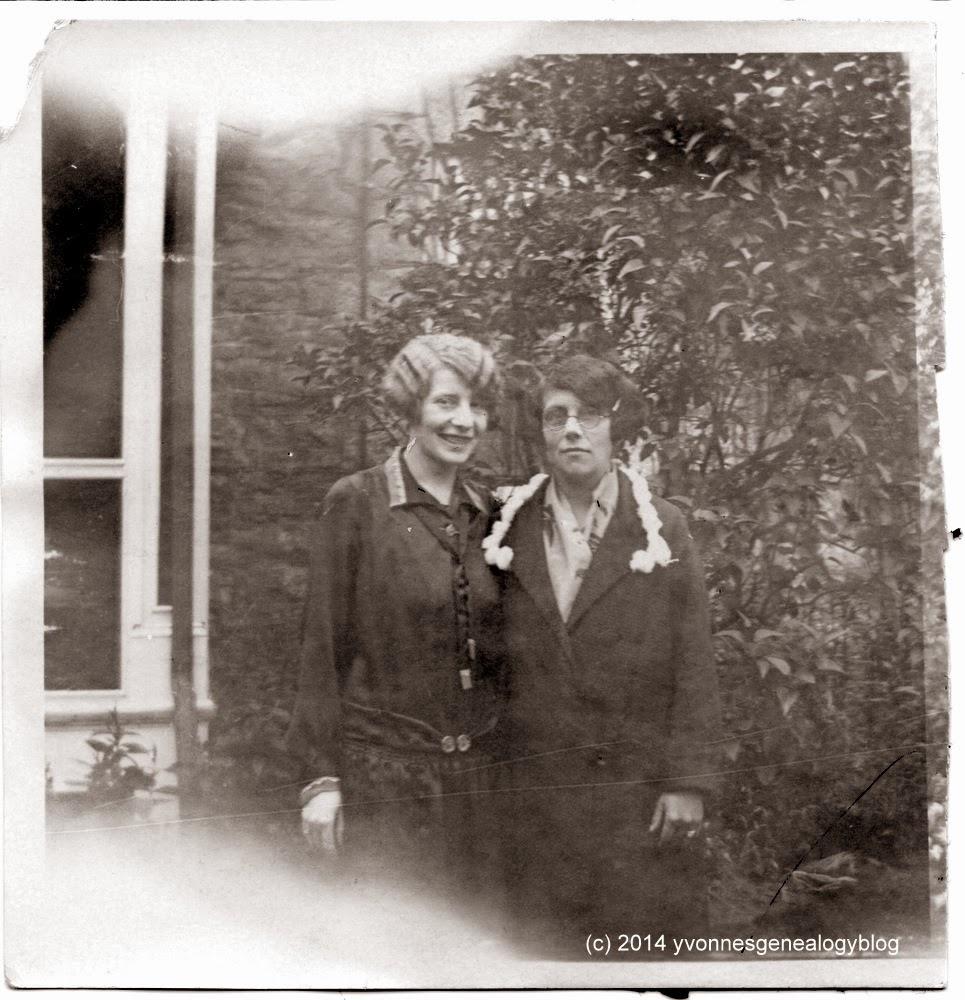 Julie Belair and Almina Lapierre