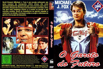O Garoto Do Futuro DVD Capa