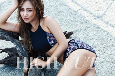 Yuri SNSD - High Cut Magazine Vol.153