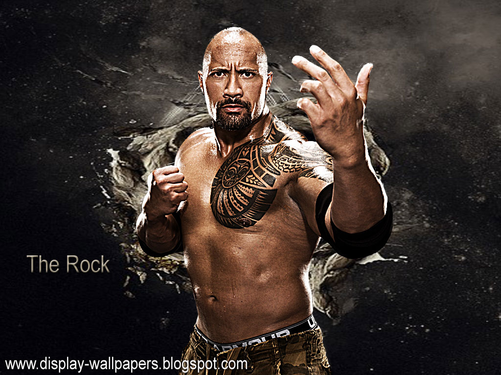 Download WWE The Rock HD Wallpapers   HD Car Wallpapers