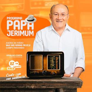 PROGRAMA PAPA JERIMUM VOLTOU!