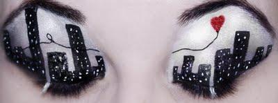مكياج غريب للعيون مكياج مختلف
