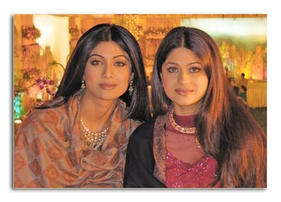 Shilpa and Shamita Shetty