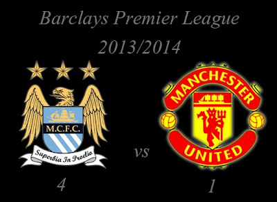 Manchester City Man United September 2013
