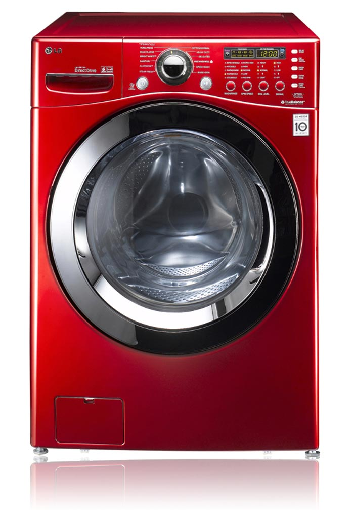 Washing Red Samsung ~ Front load washers red washer