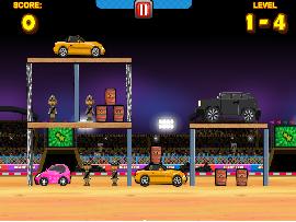 Angry Araba Oyunu
