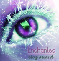 Enchanted blog award