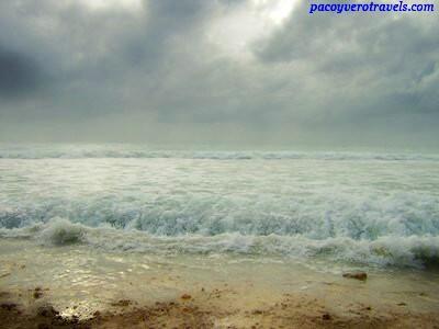 Playa de Riviera Maya antes del Huracan Wilma