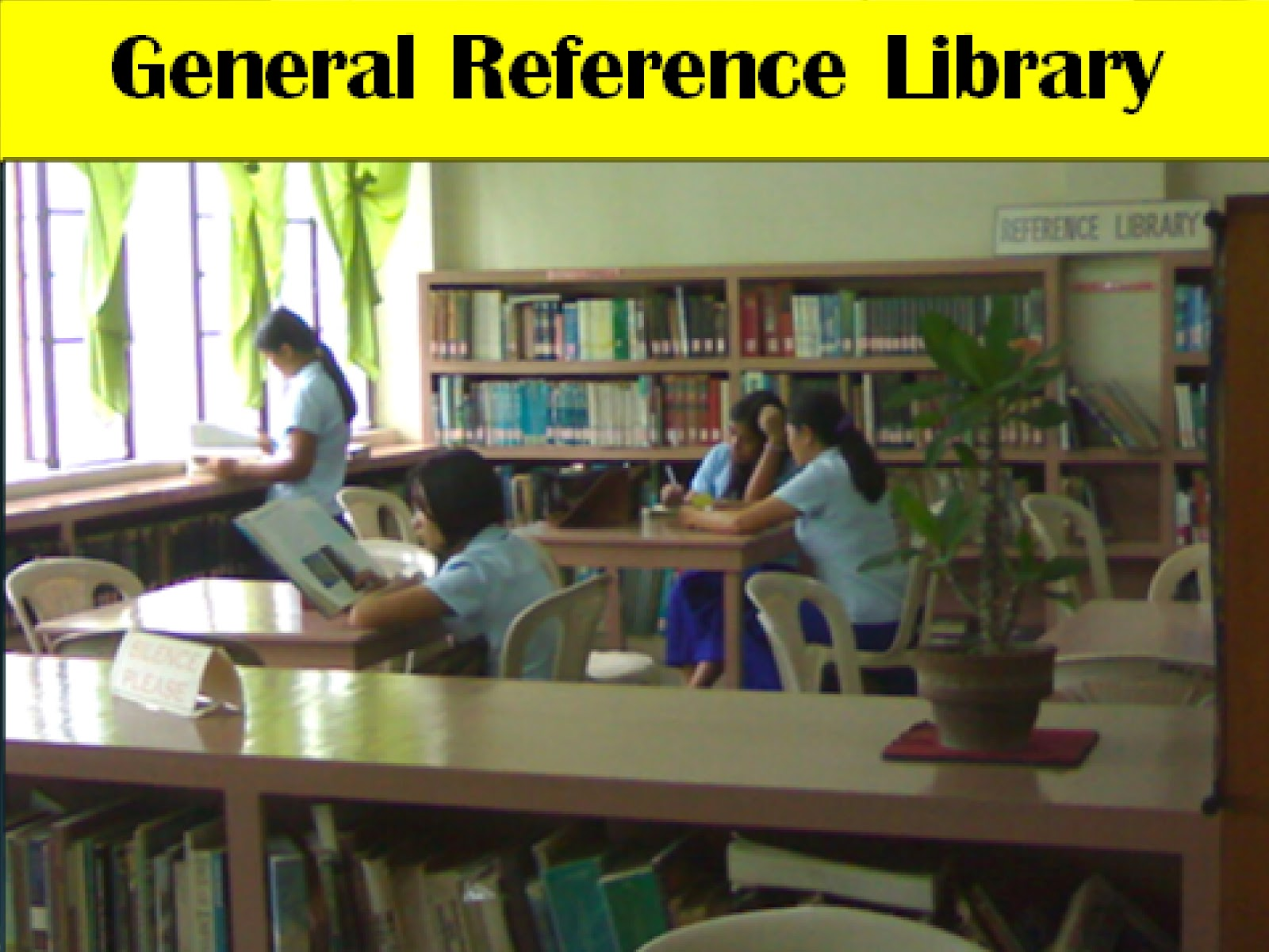 The General Reference Library Is A Collection Of Encyclopedias, Almanacs,  Dictionaries, Yearbooks, Atlases, Maps, Charts, Posters And Pictures,