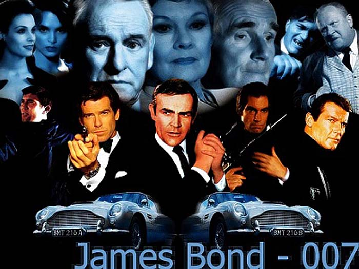 James Bond Wallpapers Download Free Desktop Pc Wallpaper Poster Hollywood Movie
