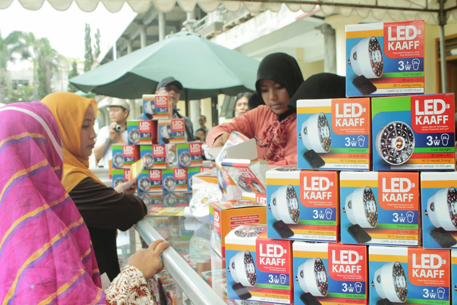 Knowledge Cafe Of Smk Industri Al Kaaffah Hebat Pelajar Smk Ciptakan Lampu Led Hemat Energi