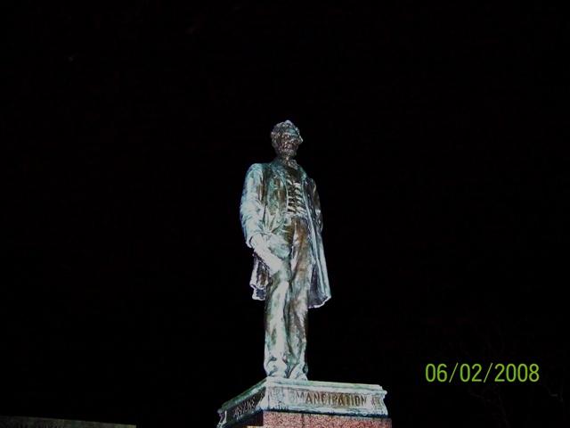 Monumento a los caídos en la Guerra Civil Americana en Old Calton
