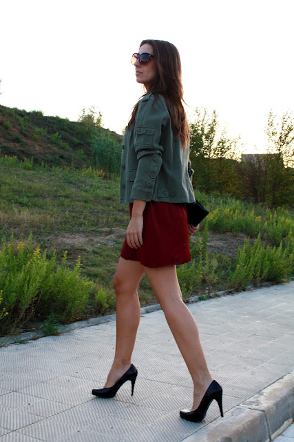 burgundy, militar, sunset