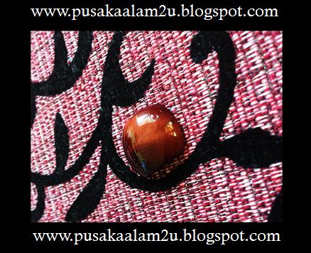 Batu Mata Harimau Merah ( Very-very Rare )