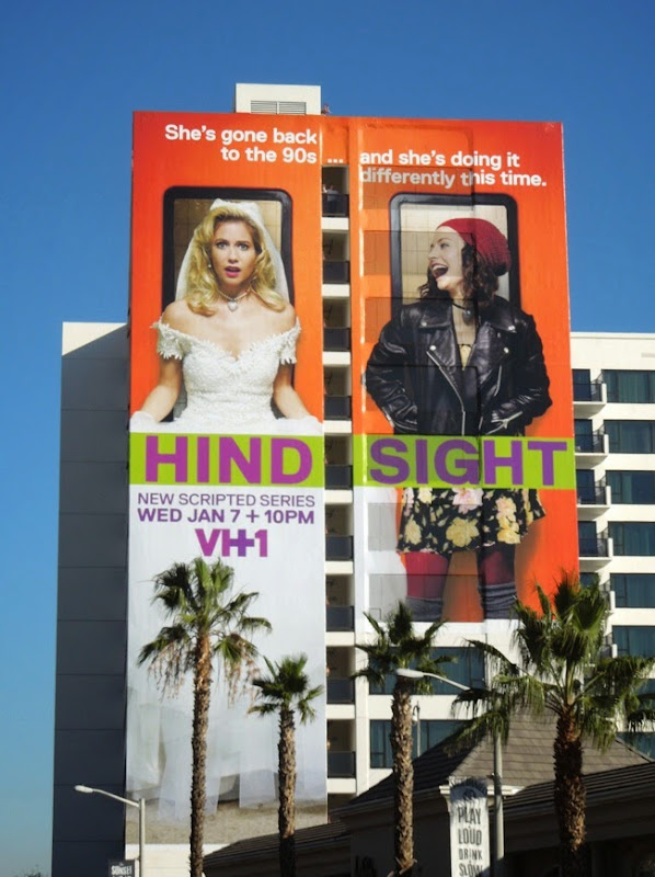 Hindsight VH1 series premiere billboard