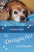 Capa do livro As divagações continuam, de Sinara Foss